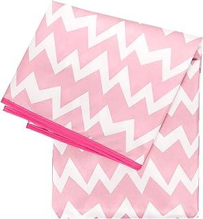 bumkins(バンキンス) 【日本正規品】丸洗いOK 防水スプラットマット お絵かきマットやテーブルクロスなどに Pink Chevron(ピンク) SM-500