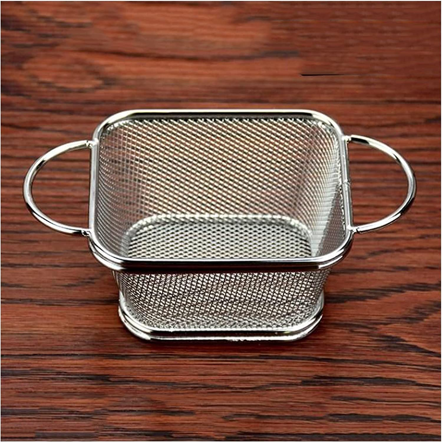 Fry Baskets Stainless Max 80% OFF Steel Basket Fries Regular discount Ba Household French