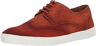 Driver Club USA Mens Mens Genuine Leather Made in Brazil Princeton Wingtip Laceup Sneaker