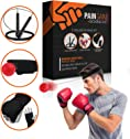 Fewao Boxing Reflex Ball Fight Reflex Punch Ball on String with Headband,Boxaball Boxing Gym Equipment Kit for Training Speed Reaction,Fitness Exercise,Hand Eye Coordination.