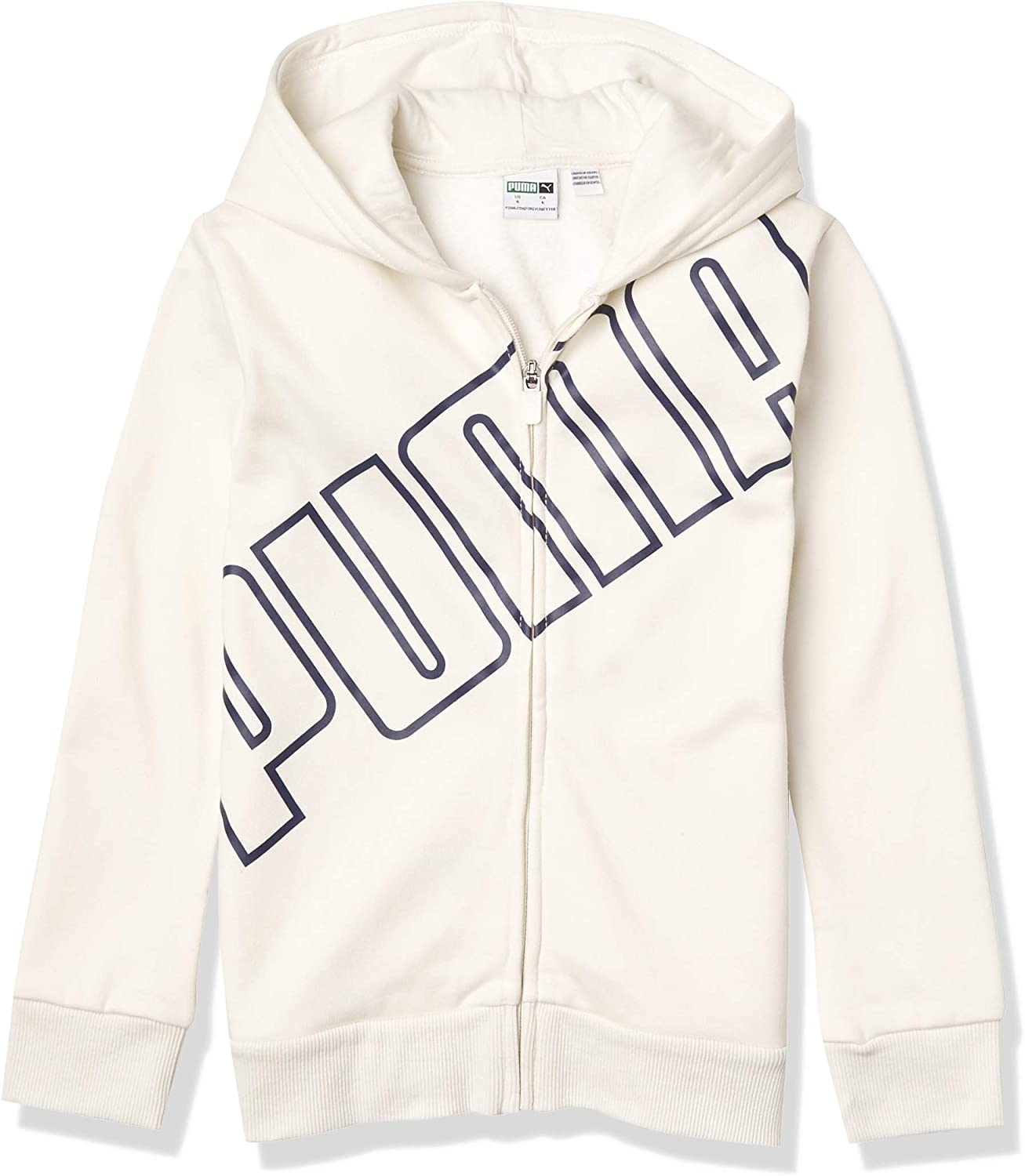 PUMA Boys' Popular shop is the lowest price challenge Zip Hoodie Up Daily bargain sale