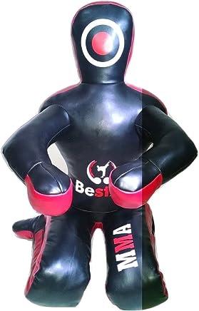 Bestzo MMA Jiu Jitsu Judo Judo Judo Grappling Dummy Kunstleder schwarz Sitzposition – ungefüllt B073RQ5BMQ       Spezielle Funktion  ffa960