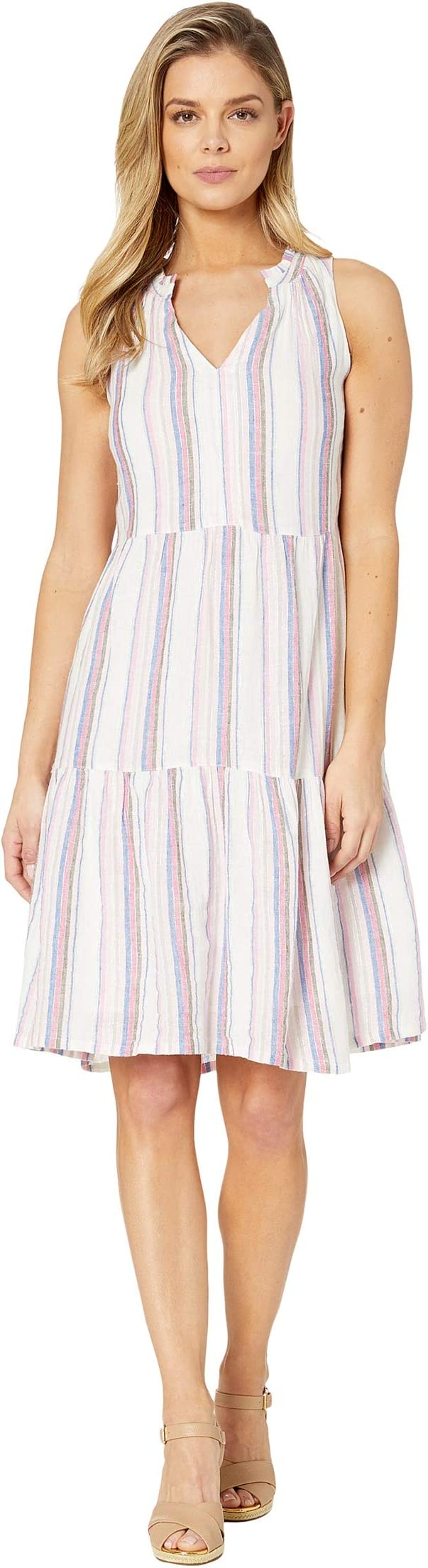 Tommy Bahama String Of Silver Short Sundress