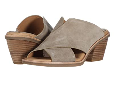 Sofft Perrie (Light Grey Oiled Cow Suede) Women