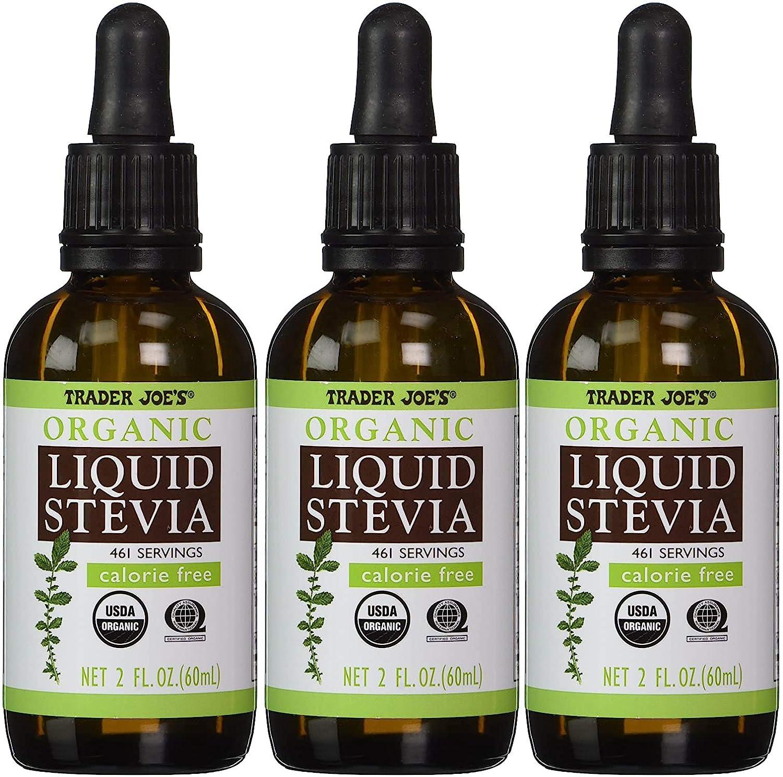 Trader Joe's Cheap mail order sales Organic Liquid Stevia Extract Fl Case 3 2 oz latest of