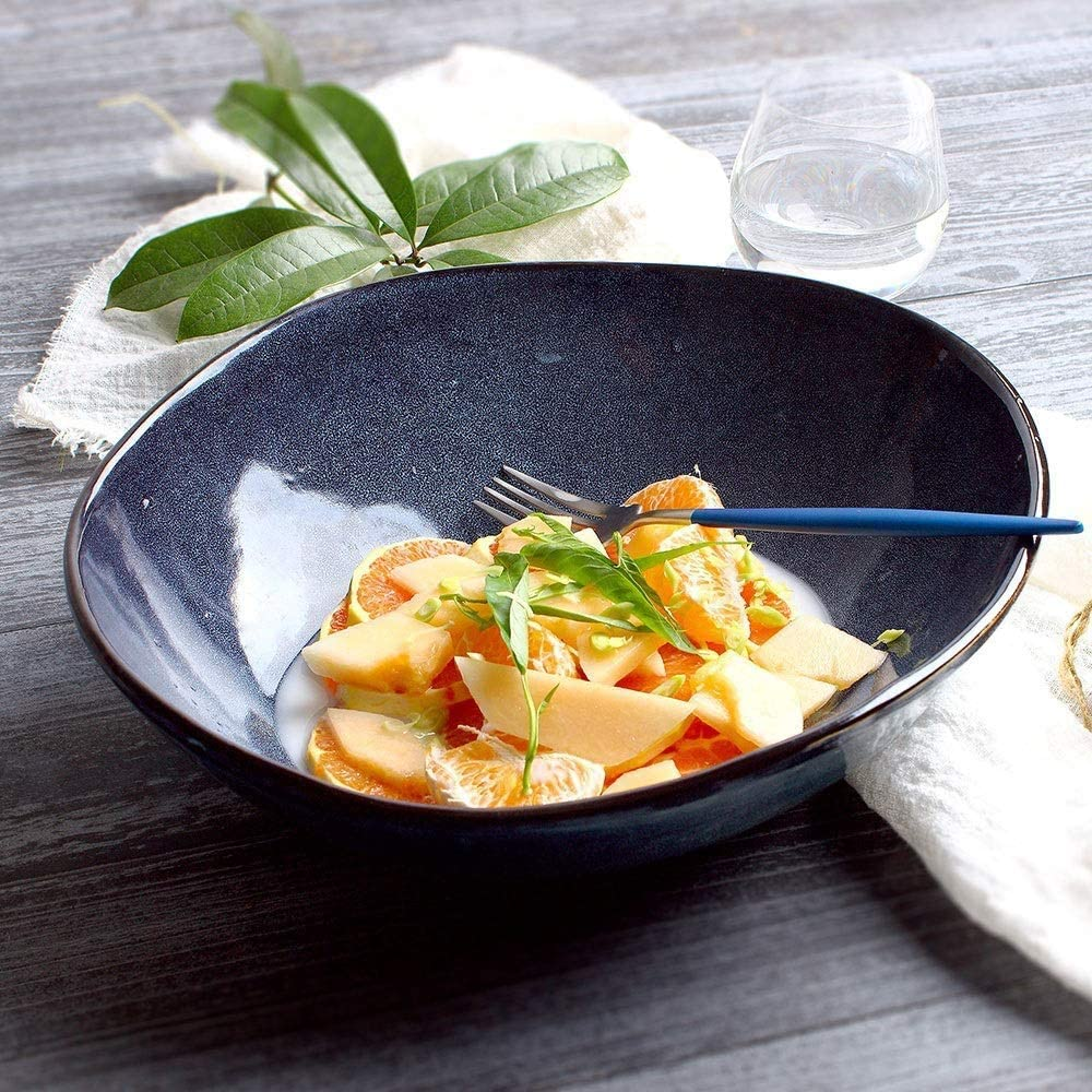 WXC Ceramic Deep 70% OFF Outlet Soup Bowl Noodle B safety Creative Porcelain Home