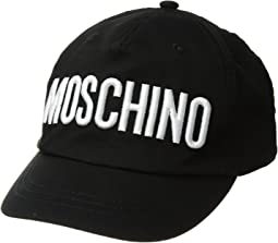 Moschino Kids Hat w/ Logo Embroidery (Big Kids)