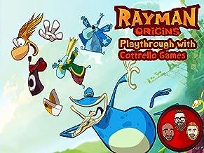 Rayman Origins Multiplayer Playthrough with Cottrello Games