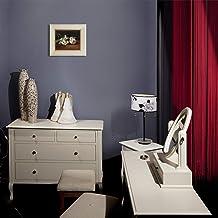 لوحة زيتية مرسومة باليد على قماش من OverstockArt فرع الفاوانيا البيضاء مع مقص تقليم من تصميم Edouard Manet