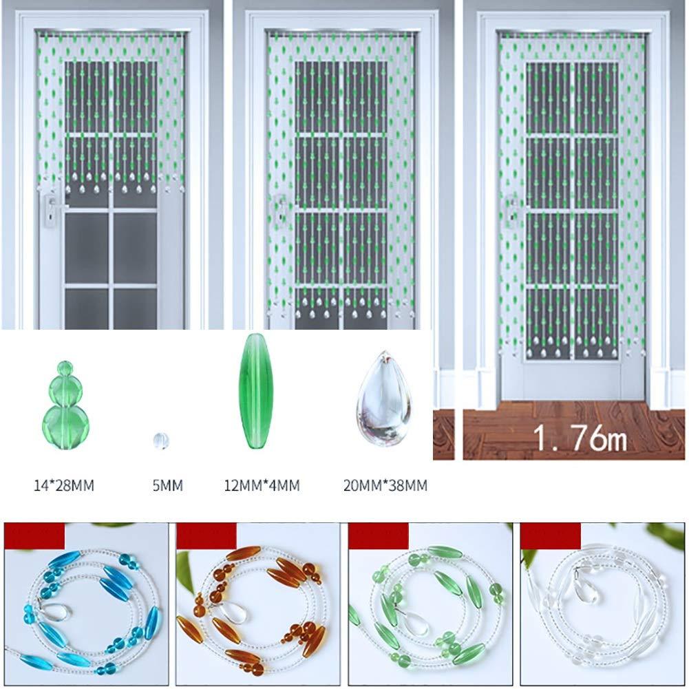 GuoWei - Cortinas con Cuentas de Cristal para decoración de Puertas y Salones, Panel Moderno Personalizable: Amazon.es: Hogar
