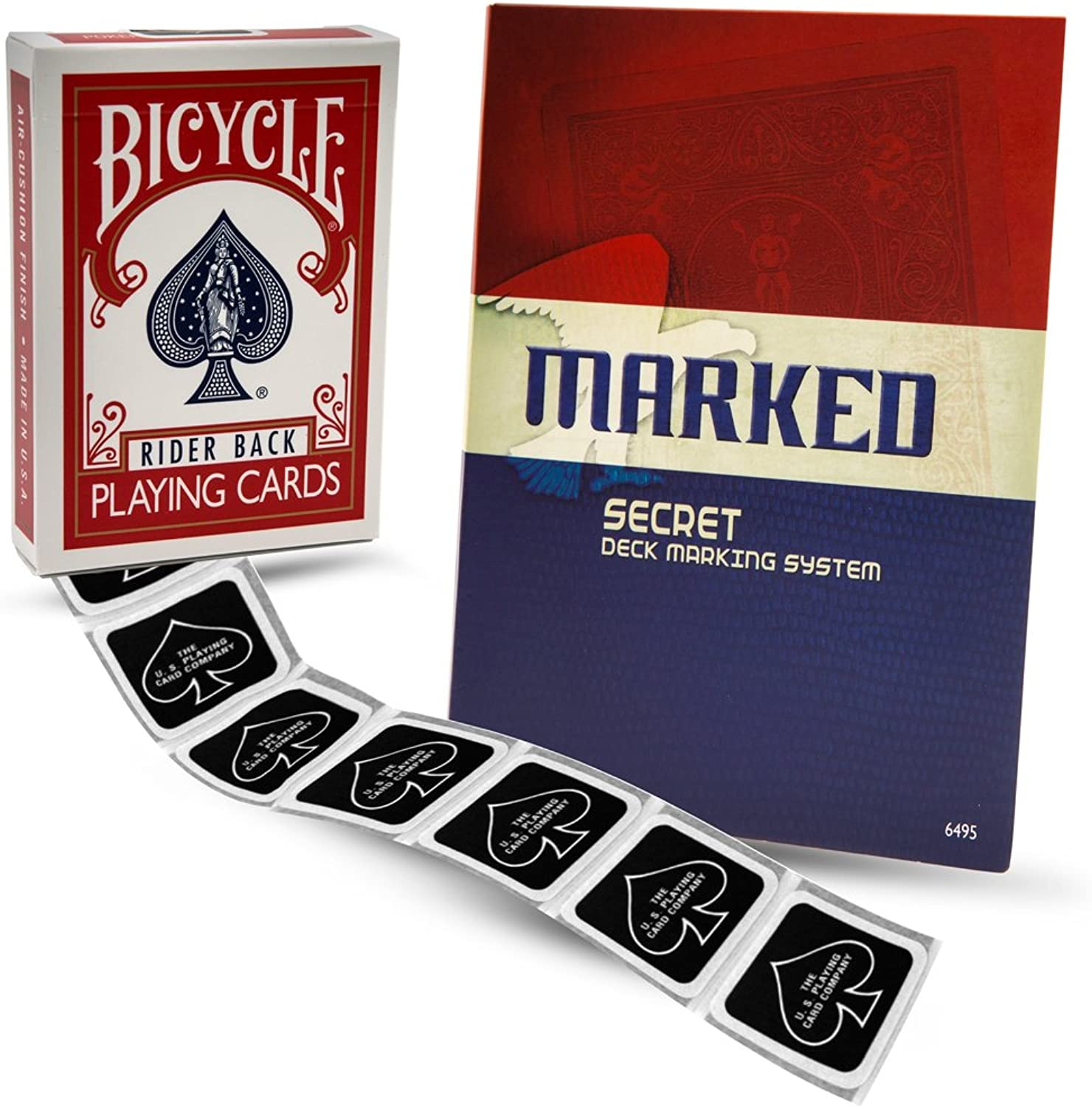 Magic Makers Bicycle Marked Deck Kit