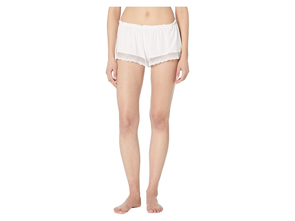 Eberjey Lucie The Sweetie Shorts (White) Women