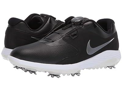 Nike Golf Vapor Pro BOA (Black/Metallic Cool Grey/White/Volt) Men