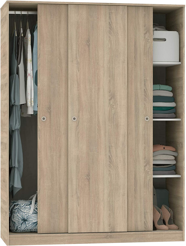 Armario vestidor ropero Abitti Gran Capacidad para Dormitorio lleno de ropa