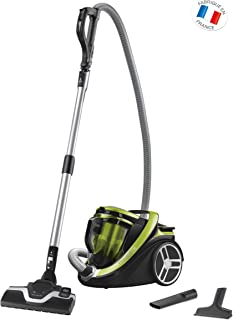 Rowenta Silence Force RO7612EA - Aspiradora (550 W, 22 kWh, Aspiradora cil?ndrica, Sin Bolsa, 2,5 L, Verde)