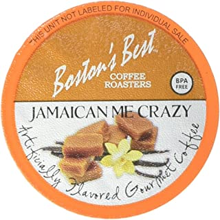 Boston's Best Single Serve K Cup Coffee, Jamaican Me Crazy, 42Count (Compatible with 2.0 Keurig Brewers)