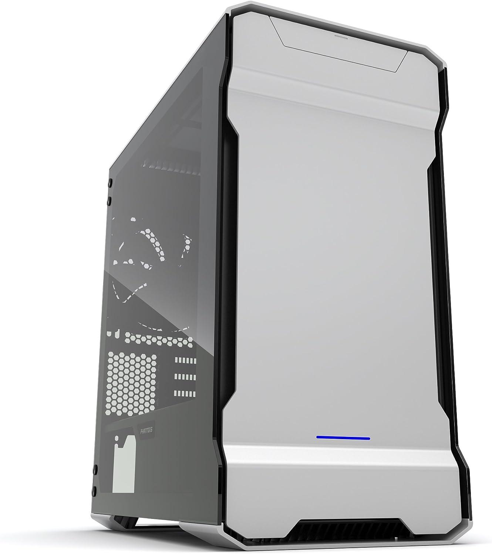 Phanteks Enthoo Evolv mATX Micro-Tower Plata - Caja de ordenador (Micro-Tower, PC, Aluminio, Acero, Vidrio templado, Plata, Micro ATX,Mini-ITX, Juego)