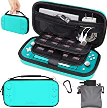 Gamehome Carrying Case Compatible with Nintendo Switch Lite, Portable Travel Protective Hard Shell Storage Pouch with 16 Game Cartridges for Nintendo Switch Lite Console & Accessories