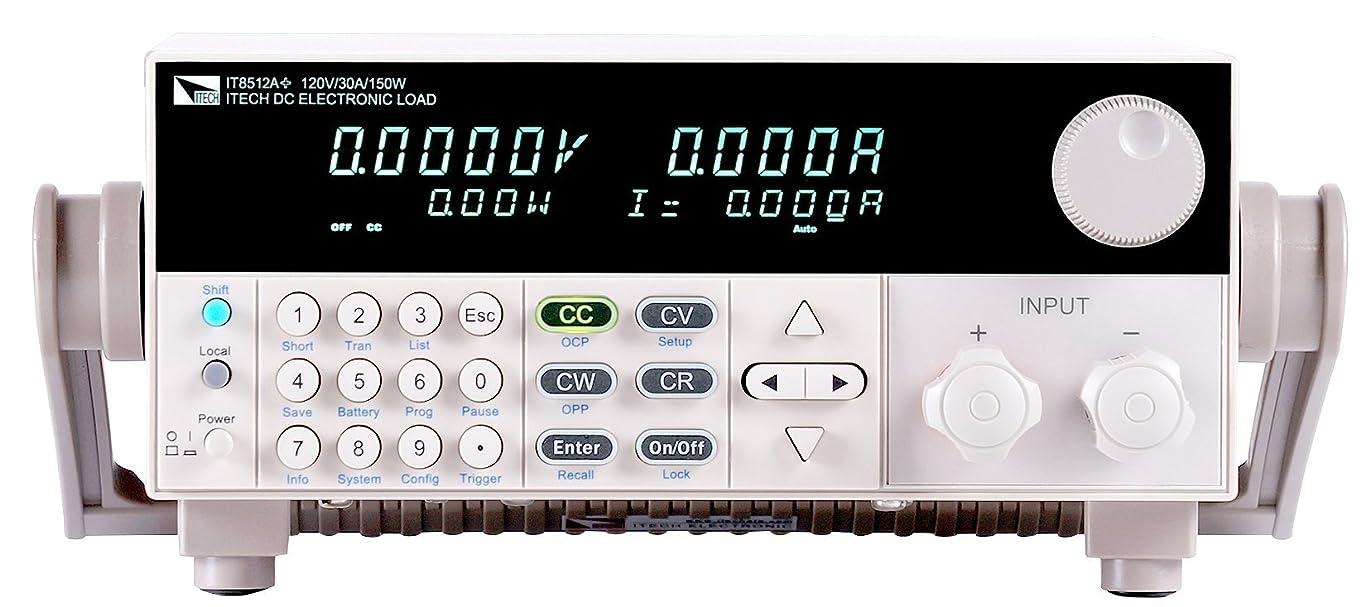 なくなる助手クラスITECH(アイテック)多機能?プログラマブル直流電子負荷装置150V/30A/300W:IT8512A+