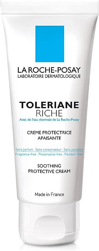 La Roche Posay Toleriane Riche Soothing Protective Moisturizer 1 35 Fl Oz