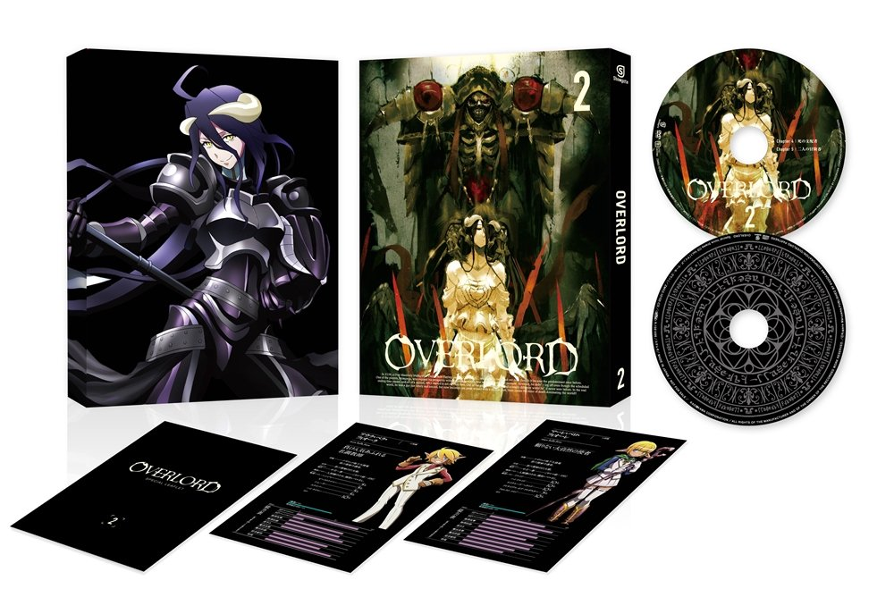 25% OFF Animation - Recommended Overlord 2 BD Japan ZMXZ-10152 BD+CD