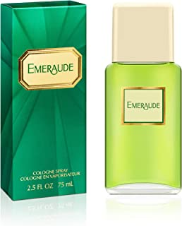 Emeraude By Coty For Women Cologne Spray, 2.5 Ounce Perfume for Women, Classic Scent Makes a Great Gift for Women