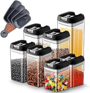 Myguru Boîte Rangement pour Aliment avec Couvercle Récipients Hermétiques à Nourriture Ensembles Boîtes sans BPA pour Grai...