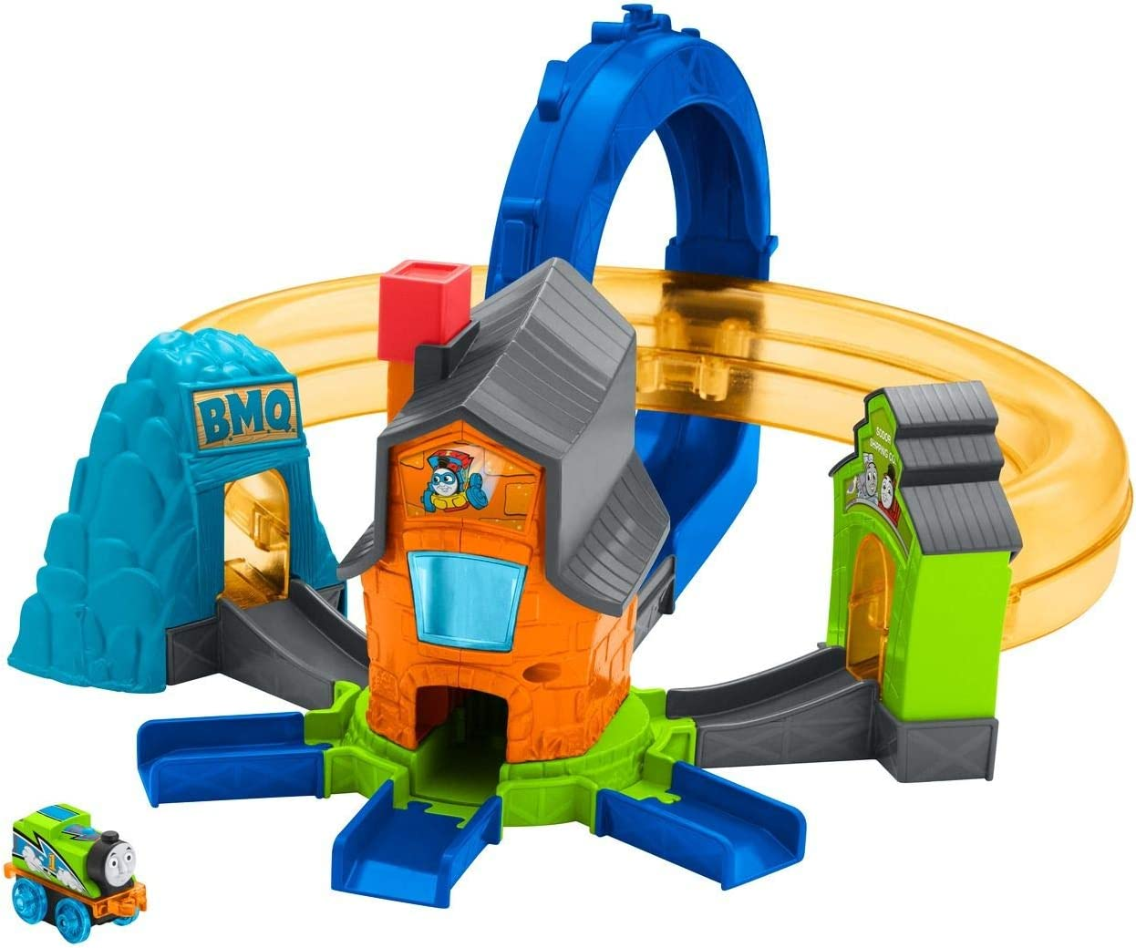 Replacement Details about  /Thomas and Friends Minis Motorized Train Track Raceway # CGM19