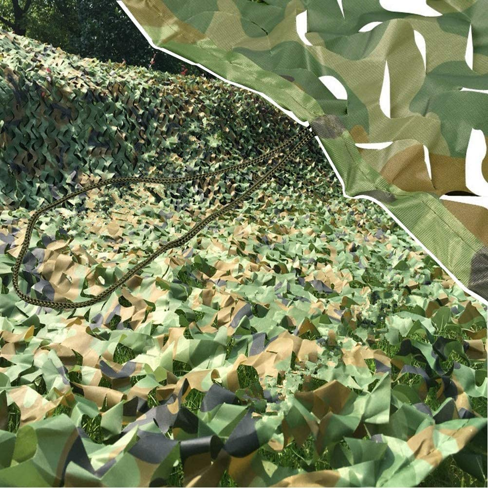 Camo Netting with Mesh Backing 20ft 67% Our shop most popular OFF of fixed price Woodland Camou X 6X6m