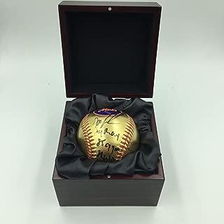 Dwight Gooden Signed Baseball - Doc Heavily Inscribed 24 KT Gold Major League Fanatics - Fanatics Authentic Certified