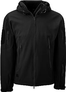 SavageCut Waterproof Military Tactical Softshell Hooded Fleece Insulated Jacket