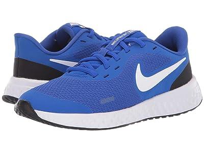 Nike Kids Revolution 5 (Big Kid) (Racer Blue/White/Black) Boys Shoes