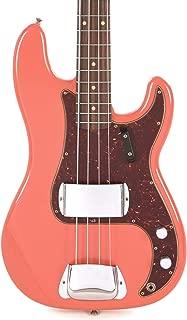 "$3780 » Fender Custom Shop 1960 Precision Bass""CME Spec"" Journeyman Relic Tahitian Coral"