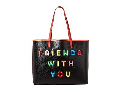 Alice + Olivia Missy Large Perfect Tote (Multi 2) Tote Handbags