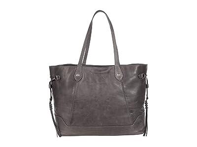 Frye Melissa Large Carryall (Carbon) Handbags
