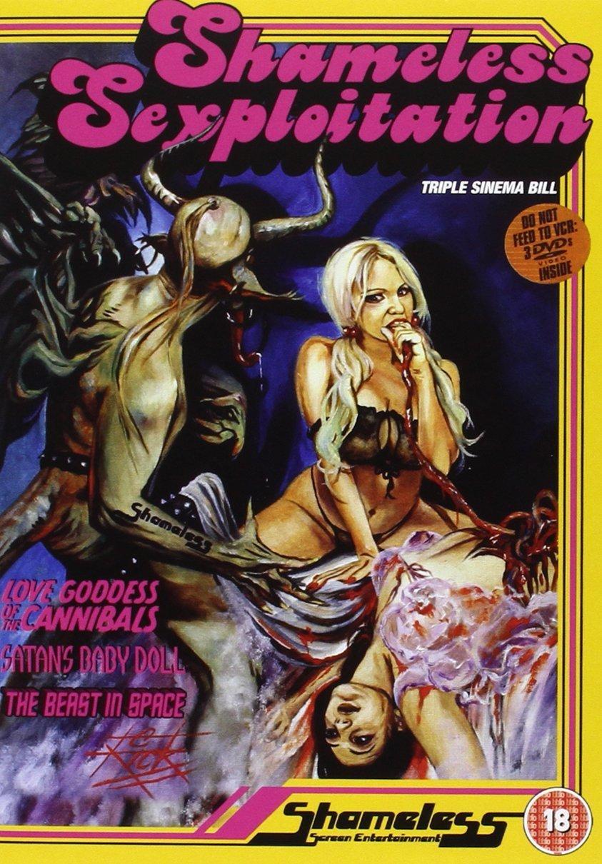 Shameless Sexploitation Boxset DVD Love the Cannib Goddess of Max Max 78% OFF 90% OFF