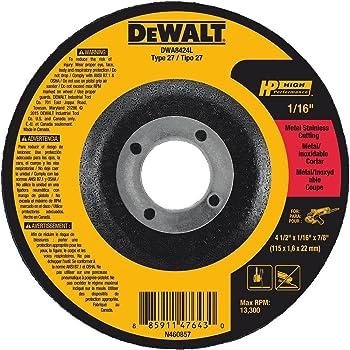 2-1//2-Inch X .035-Inch X 1//4-Inch DEWALT DW8701 A60T Wheel