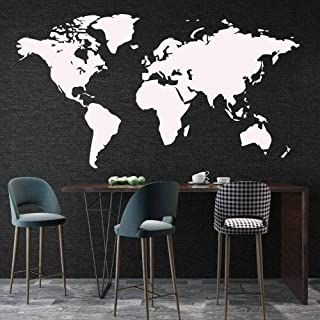 Wall Sticker World Map for House Living Room Decoration Decal Stickers Bedroom Decor Wallstickers Wallpaper Mural b2 43x79cm