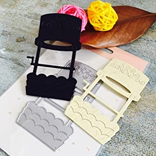 Topunder Metal Cutting Dies Stencils for DIY Scrapbooking Photo Album Paper Card Gift C