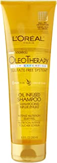 L'Oreal Paris Hair Expertise OleoTherapy Replenishing Shampoo, 8.5 Fluid Ounce