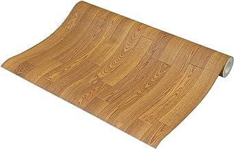 フリーカット 敷くだけリメイク床シート 木目 ナチュラル 約90×500cm