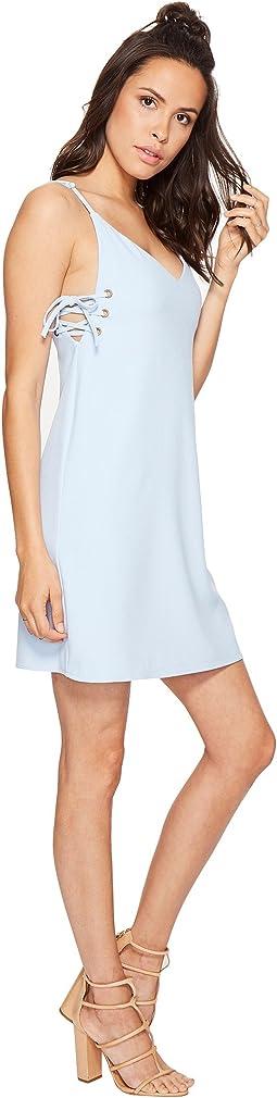 Ana Lace-Up Dress