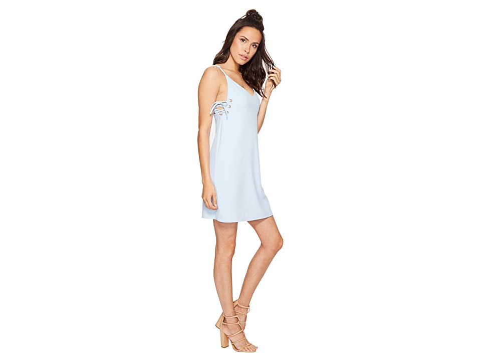 Bishop + Young Ana Lace-Up Dress (Blue) Women