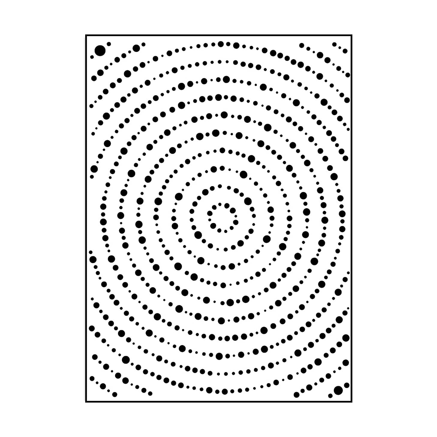 Carabelle Studio Embossing Folder-grands Cercles