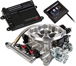 NEW HOLLEY TERMINATOR LS TBI KIT THROTTLE BODY FUEL INJECTION SYSTEM,POLISHED,950 CFM,RANGE 600 HP,COMPATIBLE WITH GM LS2/LS3 TRUCK ENGINES W/ 58X CRANK RELUCTOR