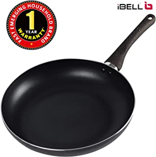 IBELL Induction Base Aluminium Fry Pan, 26 cm, Black
