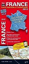 2012 france carte routiere et touristique indechirable