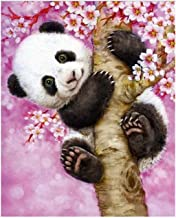 Diamond painting Diamond Painting Cartoon Panda Full Round Rhinestones Cross Stitch 5D DIY Diamond Embroidery Painting Wal...