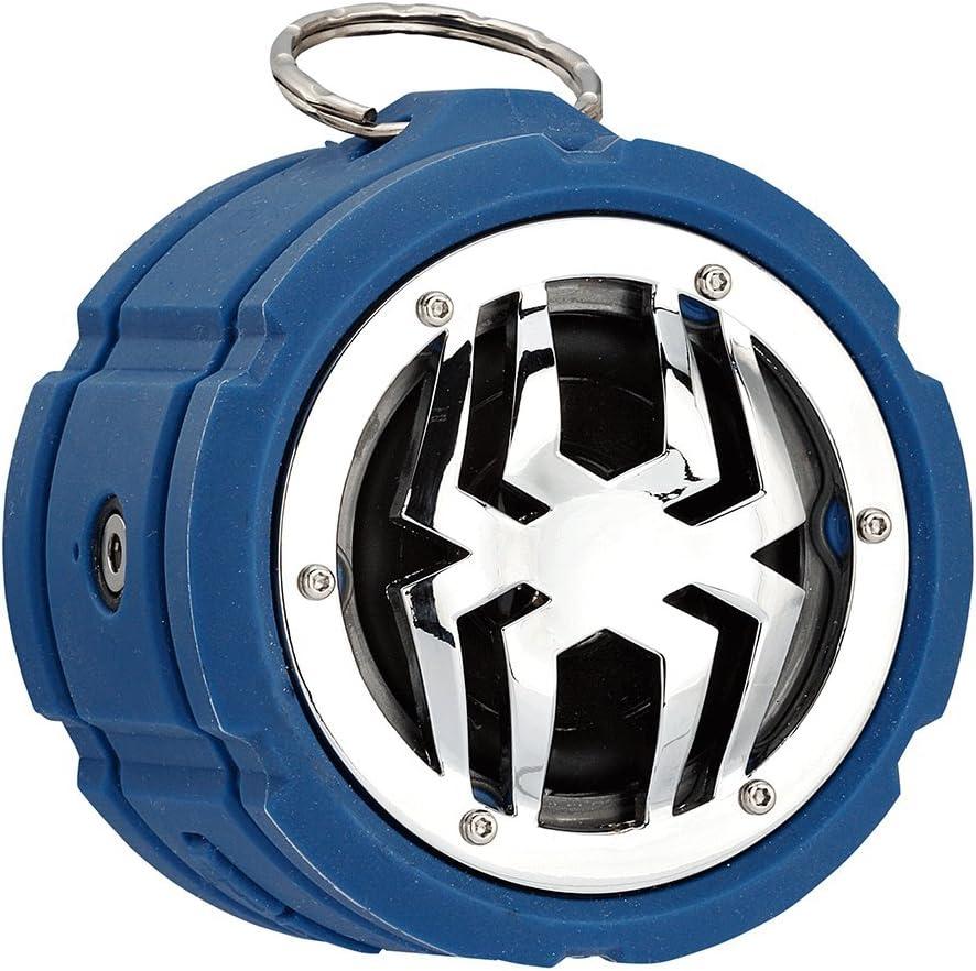 Spider Waterproof Bluetooth Deluxe discount Speaker Blue BT802 M-BTSP-L802