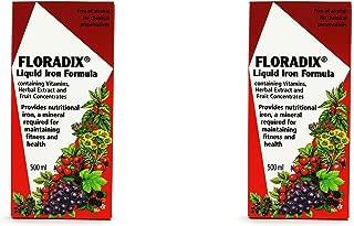 (2 PACK) - Salus Floradix Liquid Iron Formula | 500ml | 2 PACK - SUPER SAVER - SAVE MONEY